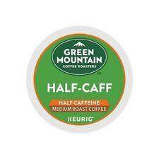 96 K-cups GREEN MOUNTAIN HALF-CAFF COFFEE MEDIUM ROAST - NEW - 3DAYS FEDEX SHIP