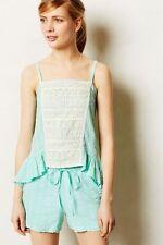 ANTHROPOLOGIE Eloise Fenella Lace Gauzy Cami Tank Shirt NwT Medium