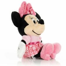 "7"" Disney Baby Minnie Mouse Stuffed Animal Plush Toy Mini Jingler New"