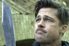 Brad Pitt Grimacing Holding Machete Inglorious Basterds 11x17 Mini Poster