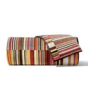 Missoni Jazz Red Stripes Towel - 159 (Hand, Bath, Sheet, Hand & Bath Towel)