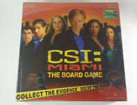 CSI: Miami The Board Game -Brand New Sealed 8 Crimes to Solve CBS Specialty 2005
