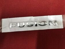 Ford fusion badge used