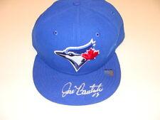 Jose Bautista Signed Toronto Blue Jays On Field New Era Hat Authentic MLB Auto