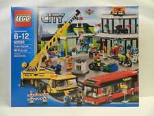 *NEW* LEGO City Town Square 60026 NISB Sealed Retired Discontinued
