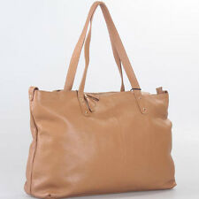 Brown (Apricot)  Italian Leather Handbag, Purse Hobo Bag, Satchel, Tote, Clutch