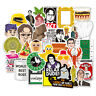 50Pcs office Friends Vinyl Stickers Graffiti Bomb Decals Pack Laptop Skateboard