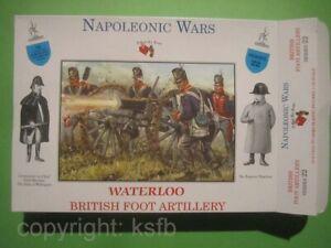 1:32 Figuren Call to Arms #22 Napoleon Britische Kanonen Bedieung Artillery Crew