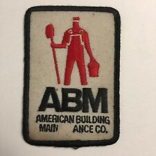 A.B.M. AMERICAN BUILDING MAIN ANCE CO.  PATCH