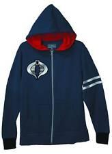 Men's GI Joe Cobra Command Xamot Official Logo Hoodie Sweatshirt Sz Small NWOT