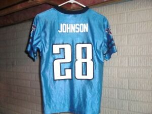 Tennessee Titans CHRIS JOHNSON football jersey youth Large