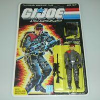 *RECARDED* 1986 GI Joe Low Light Figure Complete Sealed *CUSTOM File Card Back*