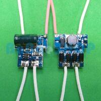 10x AC/DC LED Driver 1x1W 3x1W 300mA Power Supply 12V Lamp Light Bulb 1W 3W car