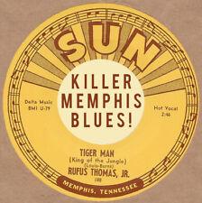 R&B REPRO:  SUN 188 RUFUS THOMAS – TIGER MAN / SAVE THAT MONEY