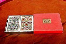 Vintage 'Fournier' Bridge Playing Cards Double Deck, Spain