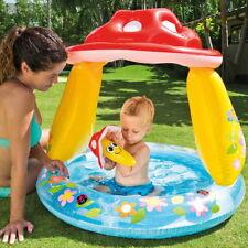 XL Kinder-Planschbecken Kinderpool Pilz 102x89cm mit zusätzlichem Spielzeug Neu