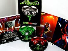 Poison Live  Raw Uncut New DVD & CD 2 Set Live Concert $29 NEW, 698268698093