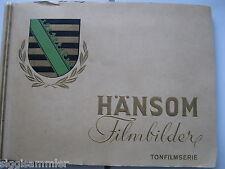 Hänsom Filmbilder III Tonfilmserie Sammelbilderalbum 1931 Zigaretten Dresden kpl