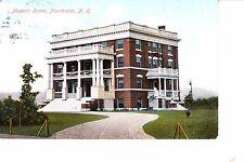 Manchester, NH  Masonic Home 1908