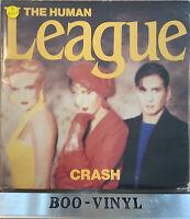The Human League Crash Gatefold Cover Original Album LP Record Vinyl V2391