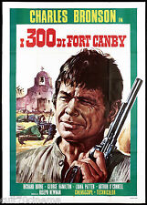 I 300 DI FORT CANBY MANIFESTO CINEMA WESTERN A THUNDER OF DRUMS MOVIE POSTER 4F
