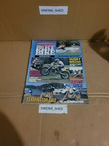 australasian dirtbike magazine. issue 172.  husq wr250,  kaw kx125
