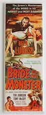 Bride of the Monster FRIDGE MAGNET (1.5 x 4.5 inches) insert movie poster