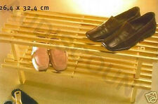 ETAGERE SUPPORT  A CHAUSSURES EN BOIS NEUF rangement meuble 71