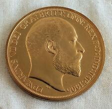 1905 NEW ZEALAND EDWARD VII GOLDEN PROOF PATTERN CROWN