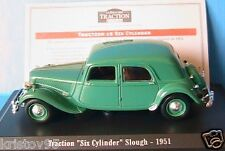 CITROEN TRACTION AVANT SIX CYLINDER SLOUGH 1/43 NOREV EDITIONS ATLAS GREEN VERTE