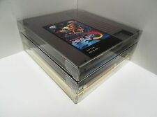 5 NES Cartridge Protectors   Custom Clear Video Game Cases   Nintendo Cart Boxes