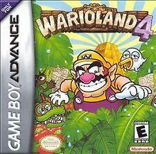 WARIO LAND 4 GAME BOY ADVANCE GBA COSMETIC WEAR