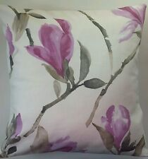 "Cushion Cover in Next Purple Magnolia 16"" Matches Curtains"
