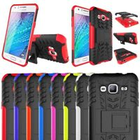 Samsung Galaxy J3 2016 Heavy Duty Tough Shock Proof Hard Case Cover With stand