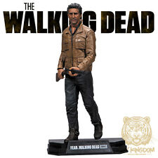 "TRAVIS MANAWA - Walking Dead TV McFarlane Color Tops 7"" Action Figure - RED WAVE"