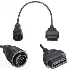 12V 43CM 14Pin to 16Pin OBD2 Adaptor Cable Connector For MB Sprinter/VW LT