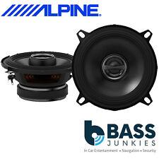 """Alpine S-S50 - 340 Watts a Pair 2 Way 5.25"""" 13cm Coaxial Car Van Door Speakers"""