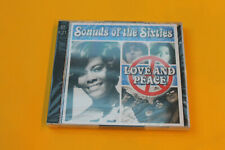 Time Life - Sound of the Sixties - love and peace - 2 CD Set (Neu - New)