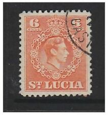 Used St Lucia Stamps Singles