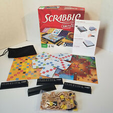 Scrabble Switch-Up Game Replacement Parts & Pieces, Tiles, Racks, Cards, Instruc