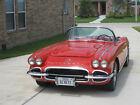 Houston Texas 1962 Red Corvette