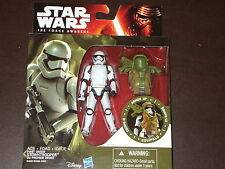 STAR WARS THE FORCE AWAKENS STORMTROOPER ARMOR UP FIGURE FACTORY SEALED
