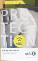 Viita Protection Women's Underwear Incontinence/Bladder Leakage 1 Pair XXL Black