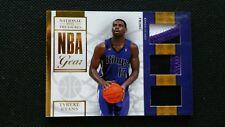 TYREKE EVANS 09-10 NATIONAL TREASURES ROOKIE RC NBA GEAR AUTO PRIME PATCH #/49!