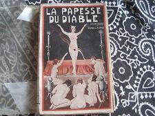 GENGENBACH/Jean SYLVIUS-Pierre de RUYNES: la papesse du diable  ed Lutèce 1931