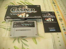 >> CASPER ACTION KSS SFC SUPER FAMICOM JAPAN IMPORT COMPLETE IN BOX! <<