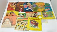 Lot of 13 Vintage 45 78 rpm Record Albums Peter Pan Records 20-727