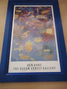 KEN DONE Huge Print 'OPAL REEF 11' The Queen Street Gallery FRAMED Adel P/U Only