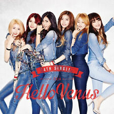 [HELLO VENUS] 4th Single Album Photo Booklet(40P)+Poster+Photo Card K-POP Sealed