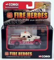 FIRE HEROES 1951 Seagrave 70th Anniversary Pumper CORGI CS90066
